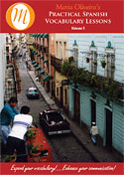 Practical Spanish Vocabulary Lessons - Volume 1 on CD